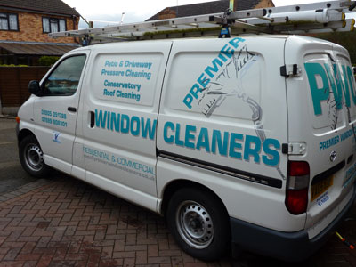 Premier Window Cleaners - my van